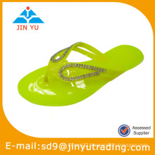 2014 women pvc slipper upper